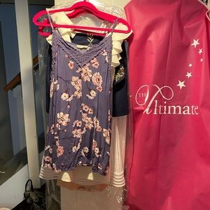LA hearts dress worn once for first day of school